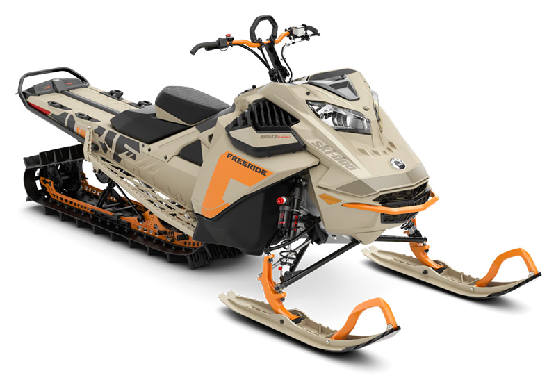 2022 Ski-Doo Freeride 165 850 E-TEC Turbo SHOT PowderMax Light 3.0 w/ FlexEdge in Clinton Township, Michigan - Photo 1