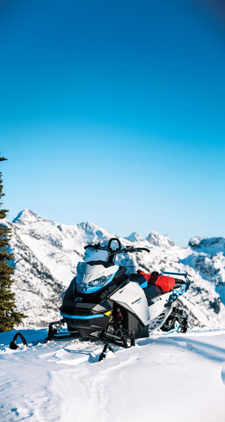 2022 Ski-Doo Summit Edge 154 850 E-TEC SHOT PowderMax Light 2.5 w/ FlexEdge in Bozeman, Montana - Photo 17