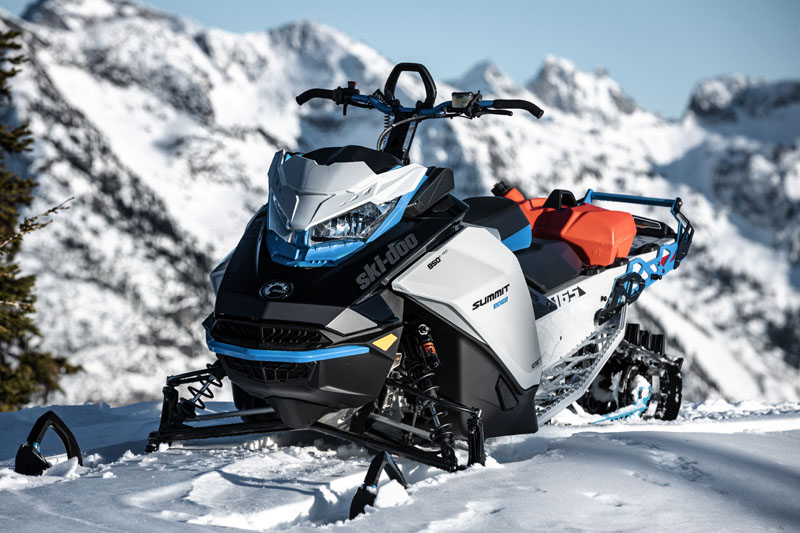 2022 Ski-Doo Summit Edge 154 850 E-TEC SHOT PowderMax Light 2.5 w/ FlexEdge in Woodinville, Washington - Photo 12
