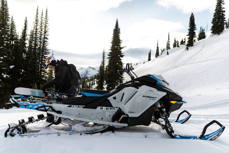 2022 Ski-Doo Summit Edge 154 850 E-TEC SHOT PowderMax Light 2.5 w/ FlexEdge in Augusta, Maine - Photo 15