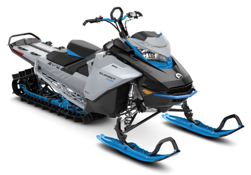 2022 Ski-Doo Summit Edge 154 850 E-TEC SHOT PowderMax Light 2.5 w/ FlexEdge in Roscoe, Illinois - Photo 1