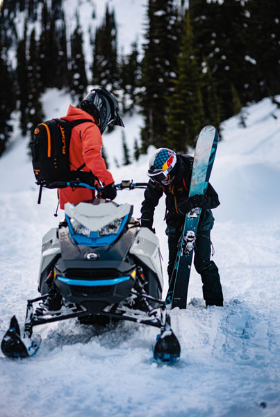 2022 Ski-Doo Summit Edge 154 850 E-TEC SHOT PowderMax Light 2.5 w/ FlexEdge in Presque Isle, Maine - Photo 18