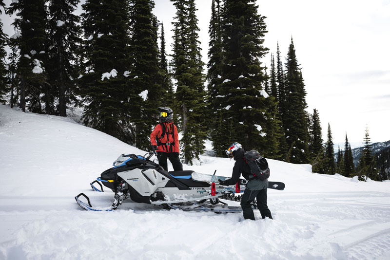 2022 Ski-Doo Summit Edge 165 850 E-TEC SHOT PowderMax Light 3.0 w/ FlexEdge in Pinehurst, Idaho - Photo 16