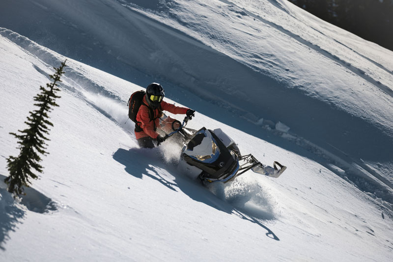 2022 Ski-Doo Summit Edge 165 850 E-TEC SHOT PowderMax Light 3.0 w/ FlexEdge in Wilmington, Illinois - Photo 5