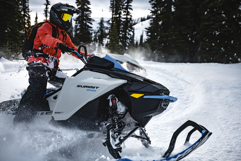 2022 Ski-Doo Summit Edge 165 850 E-TEC SHOT PowderMax Light 3.0 w/ FlexEdge in Pinehurst, Idaho - Photo 10