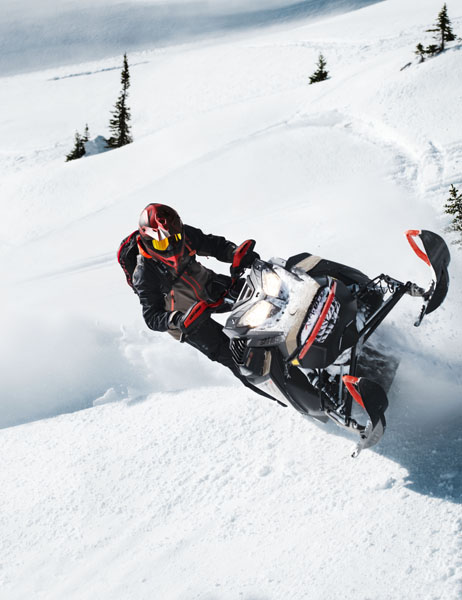 2022 Ski-Doo Summit SP 154 600R E-TEC SHOT PowderMax Light 3.0 w/ FlexEdge in Moses Lake, Washington - Photo 8