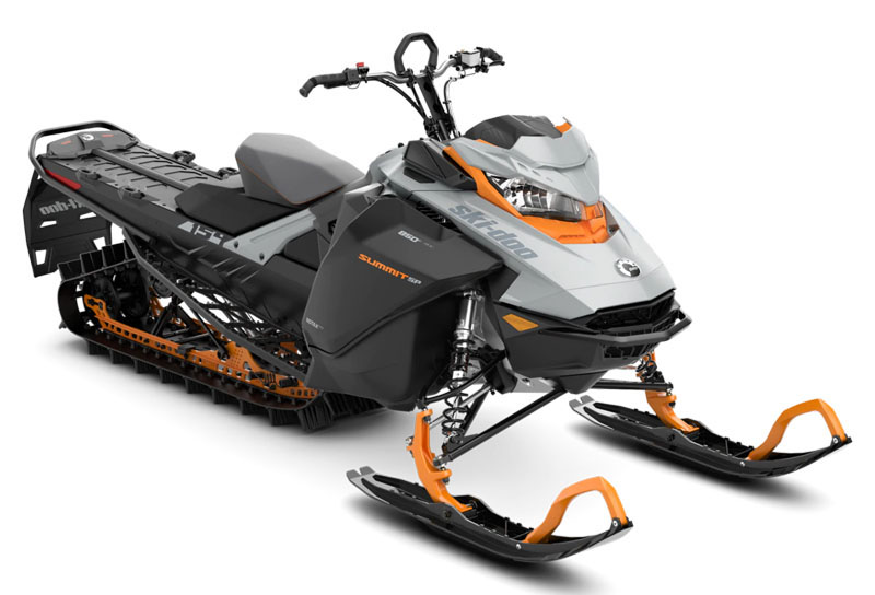 2022 Ski-Doo Summit SP 154 850 E-TEC SHOT PowderMax Light 3.0 w/ FlexEdge in Derby, Vermont - Photo 1