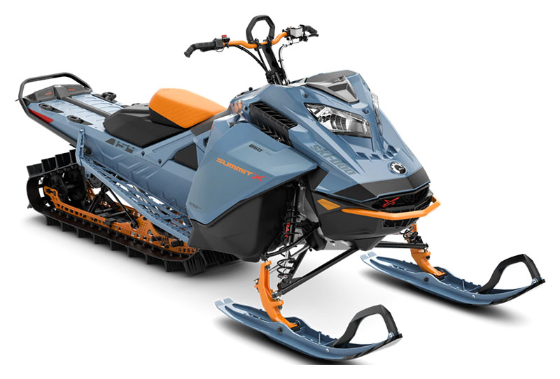 2022 Ski-Doo Summit X 154 850 E-TEC ES PowderMax Light 2.5 w/ FlexEdge SL in Hudson Falls, New York - Photo 1