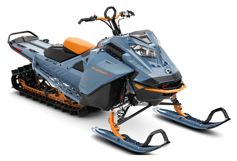 2022 Ski-Doo Summit X 154 850 E-TEC SHOT PowderMax Light 2.5 w/ FlexEdge SL in Wasilla, Alaska - Photo 1