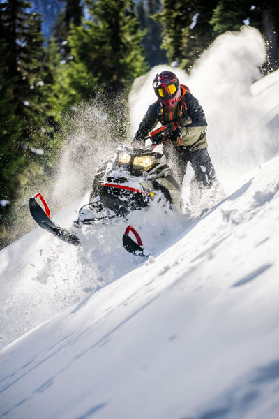 2022 Ski-Doo Summit X 154 850 E-TEC SHOT PowderMax Light 3.0 w/ FlexEdge HA in Woodinville, Washington - Photo 5