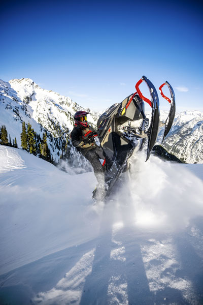 2022 Ski-Doo Summit X 154 850 E-TEC SHOT PowderMax Light 3.0 w/ FlexEdge SL in Cottonwood, Idaho - Photo 9