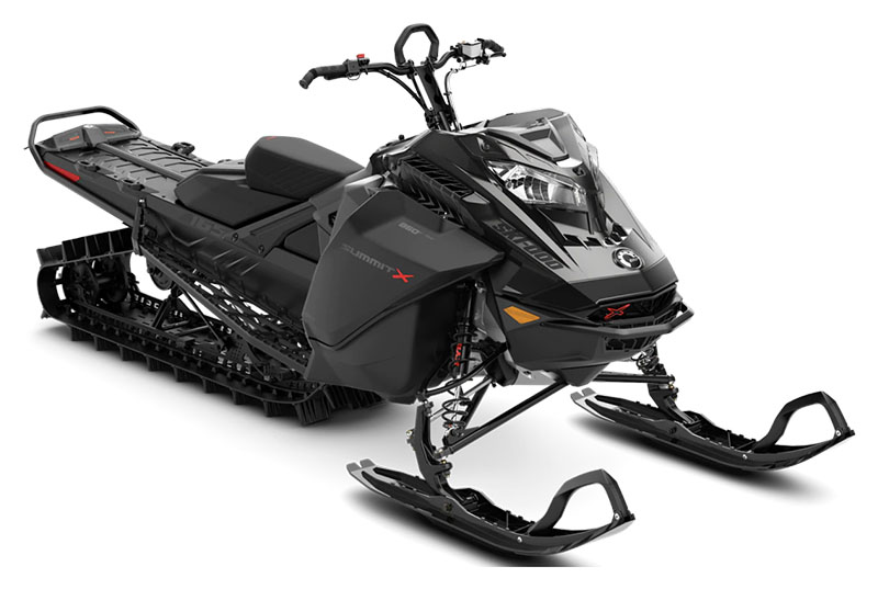 2022 Ski-Doo Summit X 165 850 E-TEC ES PowderMax Light 2.5 w/ FlexEdge SL in Evanston, Wyoming