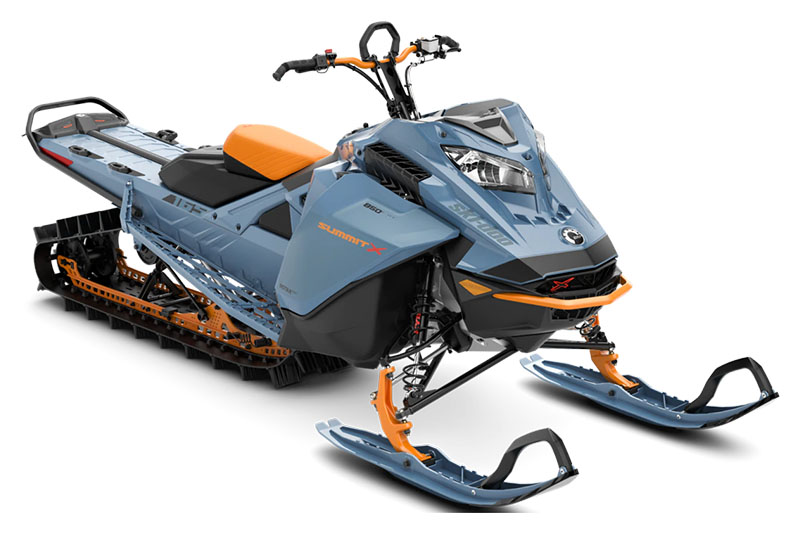 2022 Ski-Doo Summit X 165 850 E-TEC SHOT PowderMax Light 3.0 w/ FlexEdge SL in Unity, Maine - Photo 1