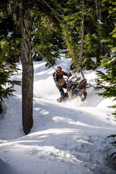 2022 Ski-Doo Summit X 165 850 E-TEC SHOT PowderMax Light 3.0 w/ FlexEdge HA in Woodinville, Washington - Photo 4