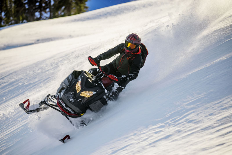 2022 Ski-Doo Summit X 165 850 E-TEC SHOT PowderMax Light 3.0 w/ FlexEdge HA in Moses Lake, Washington - Photo 9