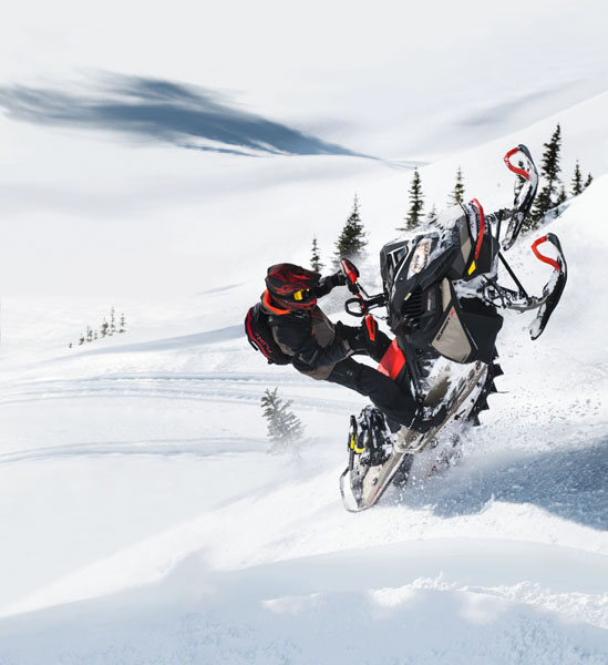 2022 Ski-Doo Summit X 165 850 E-TEC SHOT PowderMax Light 3.0 w/ FlexEdge SL in Devils Lake, North Dakota - Photo 10