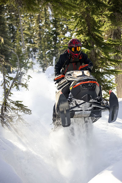 2022 Ski-Doo Summit X Expert 154 850 E-TEC SHOT PowderMax Light 3.0 w/ FlexEdge HA in Devils Lake, North Dakota - Photo 4
