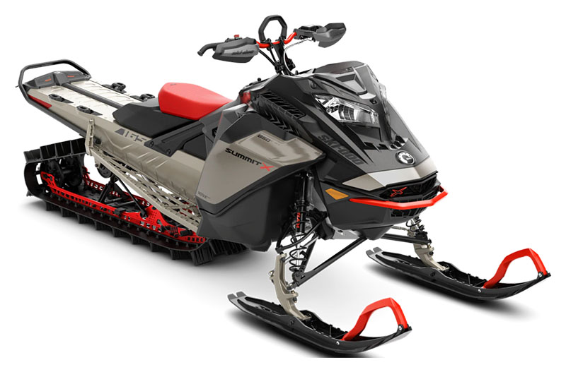 2022 Ski-Doo Summit X Expert 165 850 E-TEC SHOT PowderMax Light 3.0 w/ FlexEdge SL in Dickinson, North Dakota - Photo 1