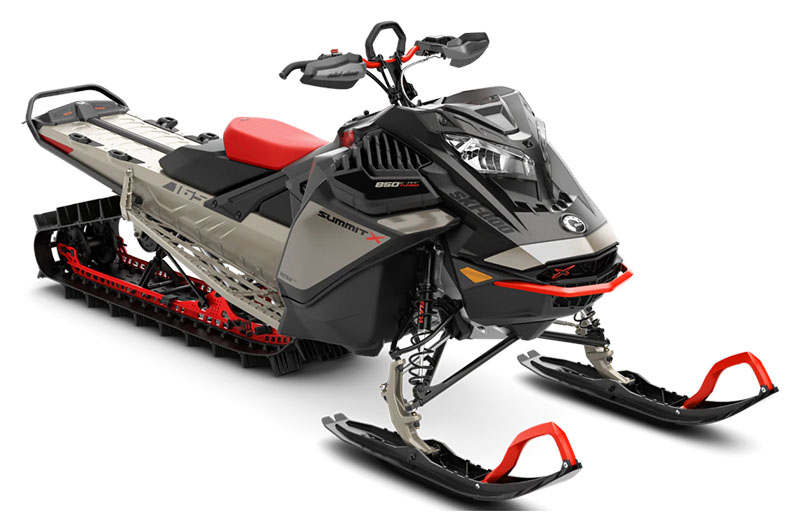 2022 Ski-Doo Summit X Expert 165 850 E-TEC Turbo SHOT PowderMax Light 3.0 w/ FlexEdge HA in Augusta, Maine - Photo 1