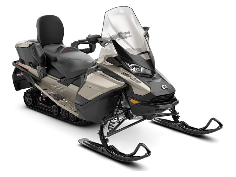 2022 Ski-Doo Grand Touring Limited 900 ACE ES Silent Ice Track II 1.25 w/ LCD Color Display in Augusta, Maine - Photo 1