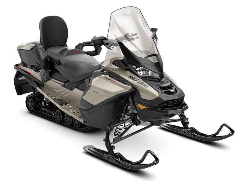 2022 Ski-Doo Grand Touring Limited 900 ACE TURBO R ES Silent Ice Track II 1.25 w/ LCD Color Display in Augusta, Maine