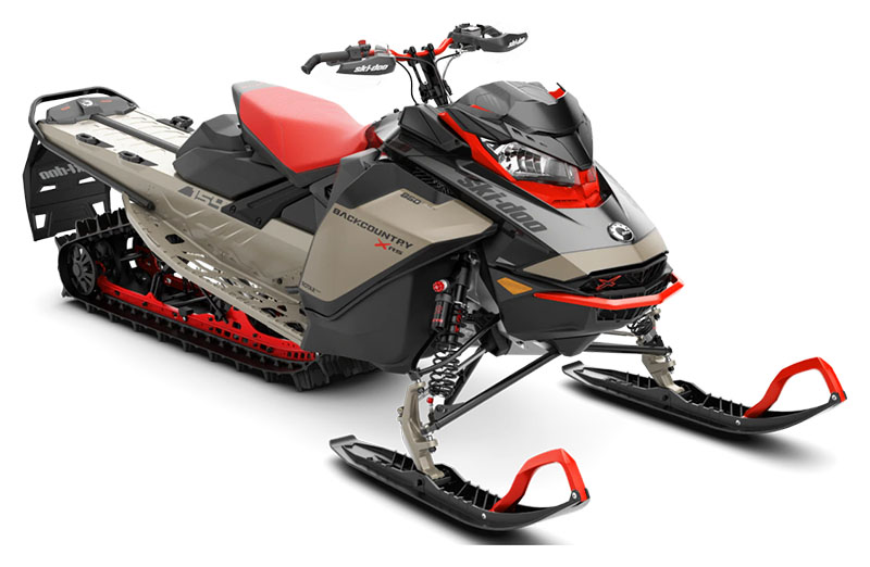 2022 Ski-Doo Backcountry X-RS 154 850 E-TEC ES PowderMax II 2.5 in Rexburg, Idaho