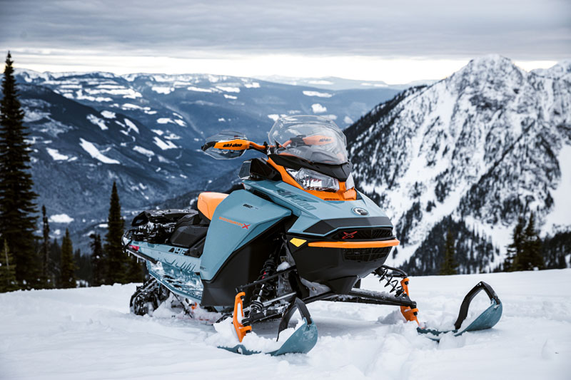 2022 Ski-Doo Backcountry X 850 E-TEC ES PowderMax 2.0 w/ Premium Color Display in Derby, Vermont - Photo 2