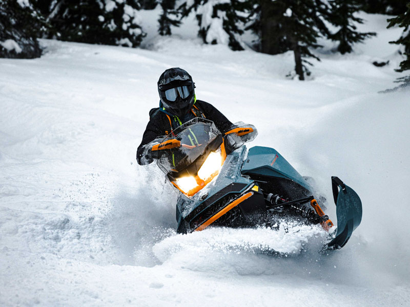 2022 Ski-Doo Backcountry X 850 E-TEC ES PowderMax 2.0 w/ Premium Color Display in Hillman, Michigan - Photo 3