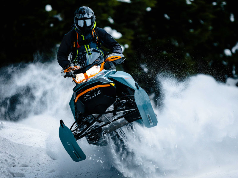 2022 Ski-Doo Backcountry X 850 E-TEC ES PowderMax 2.0 w/ Premium Color Display in Hillman, Michigan - Photo 4