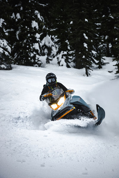 2022 Ski-Doo Backcountry X 850 E-TEC ES PowderMax 2.0 w/ Premium Color Display in Hillman, Michigan - Photo 6