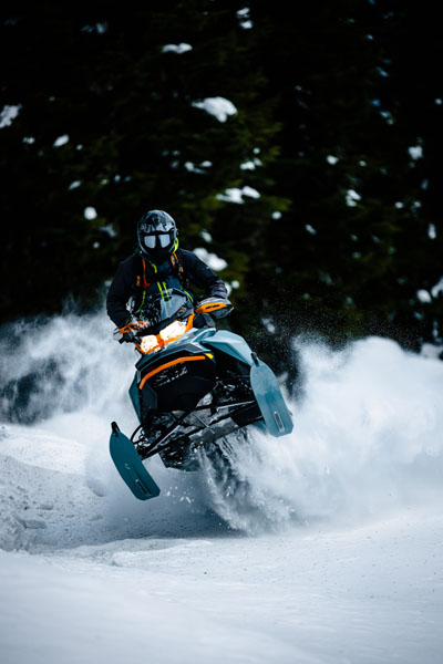 2022 Ski-Doo Backcountry X 850 E-TEC ES PowderMax 2.0 w/ Premium Color Display in Hillman, Michigan - Photo 7
