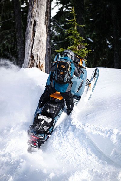 2022 Ski-Doo Backcountry X 850 E-TEC ES PowderMax 2.0 w/ Premium Color Display in Hillman, Michigan - Photo 8