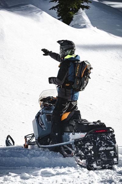 2022 Ski-Doo Backcountry X 850 E-TEC ES PowderMax 2.0 w/ Premium Color Display in Derby, Vermont - Photo 9