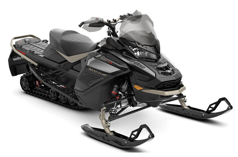 2022 Ski-Doo Mach Z 900 ACE Turbo R ES Ice Ripper XT 1.25 w/ Smart-Shox, w/ Premium Color Display in Rome, New York - Photo 1