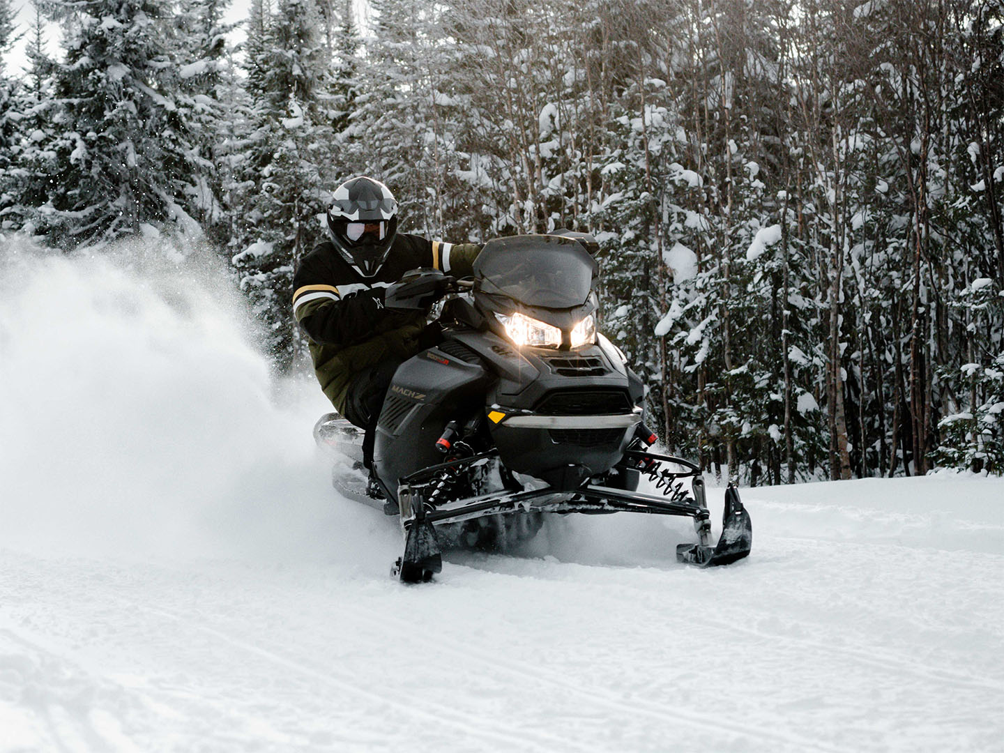 2022 Ski-Doo Mach Z 900 ACE Turbo R ES RipSaw II 1.25 w/ Smart-Shox, w/ Premium Color Display in Dansville, New York - Photo 4
