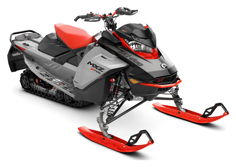 2022 Ski-Doo MXZ X-RS 850 E-TEC ES Ice Ripper XT 1.25 w/ Premium Color Display in Wasilla, Alaska - Photo 1