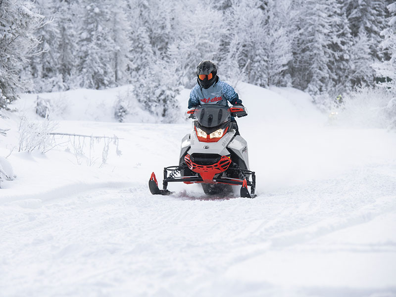 2022 Ski-Doo MXZ X-RS 850 E-TEC ES w/ Adj. Pkg, RipSaw 1.25 in Elma, New York - Photo 6