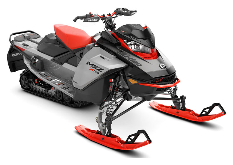 2022 Ski-Doo MXZ X-RS 850 E-TEC ES w/ Adj. Pkg, RipSaw 1.25 in Presque Isle, Maine - Photo 1