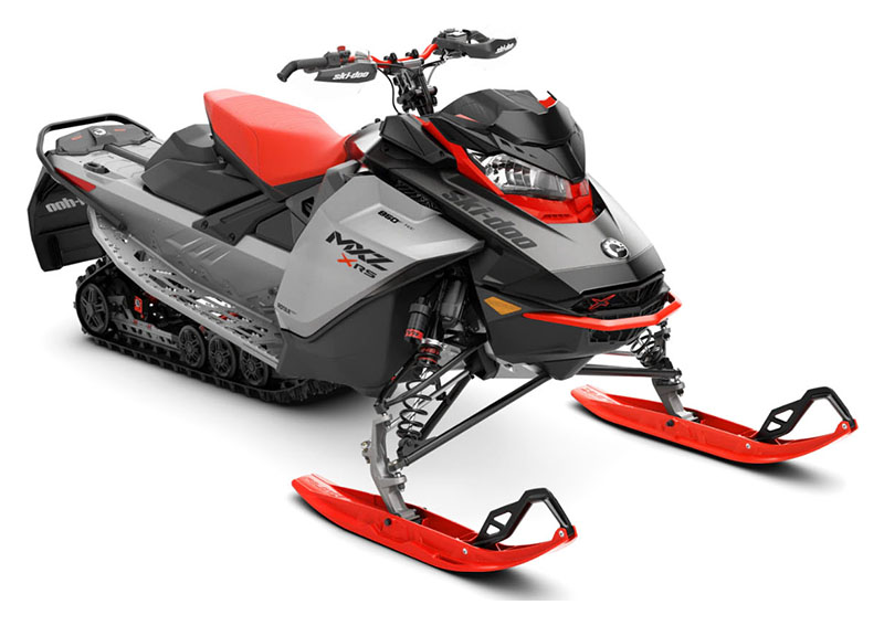 2022 Ski-Doo MXZ X-RS 850 E-TEC ES w/ Smart-Shox, Ice Ripper XT 1.25 in Devils Lake, North Dakota - Photo 1