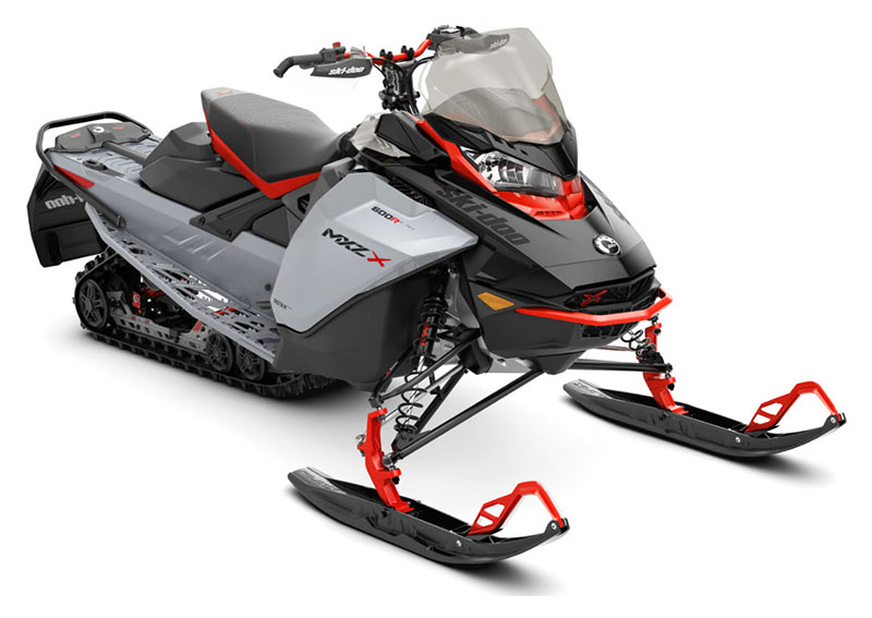 2022 Ski-Doo MXZ X 600R E-TEC ES RipSaw 1.25 in Derby, Vermont - Photo 1