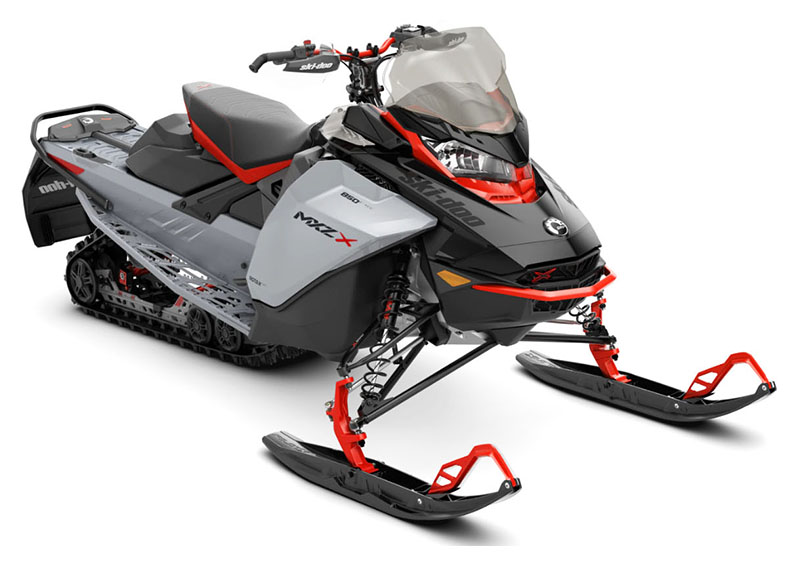 2022 Ski-Doo MXZ X 850 E-TEC ES Ice Ripper XT 1.5 w/ Premium Color Display in Roscoe, Illinois - Photo 1