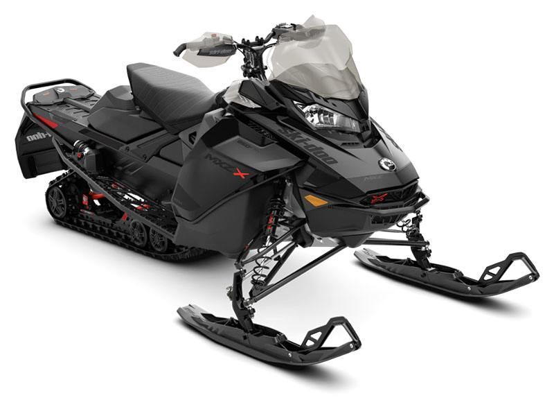 2021 Ski-Doo MXZ X 850 E-TEC ES w/ Adj. Pkg, RipSaw 1.25 w/ Premium Color Display in Augusta, Maine - Photo 1