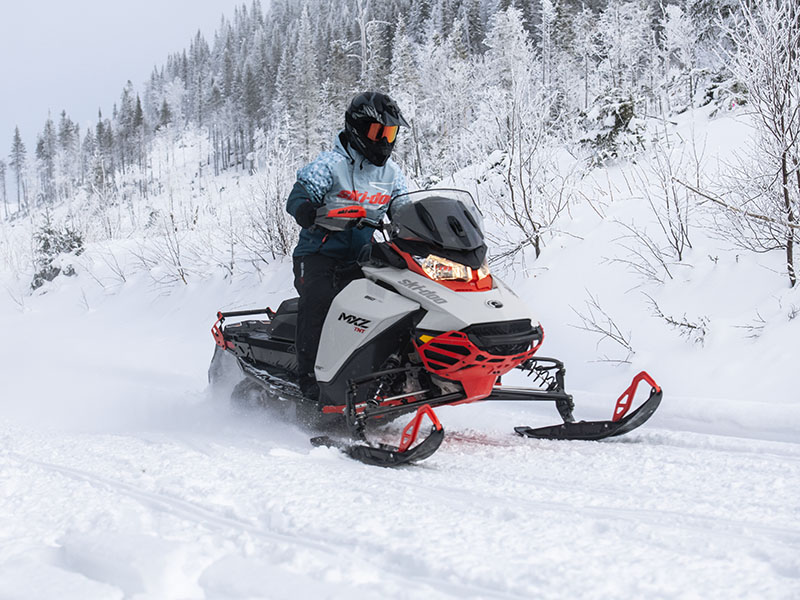 2022 Ski-Doo MXZ X 850 E-TEC ES RipSaw 1.25 w/ Premium Color Display in Dansville, New York - Photo 5