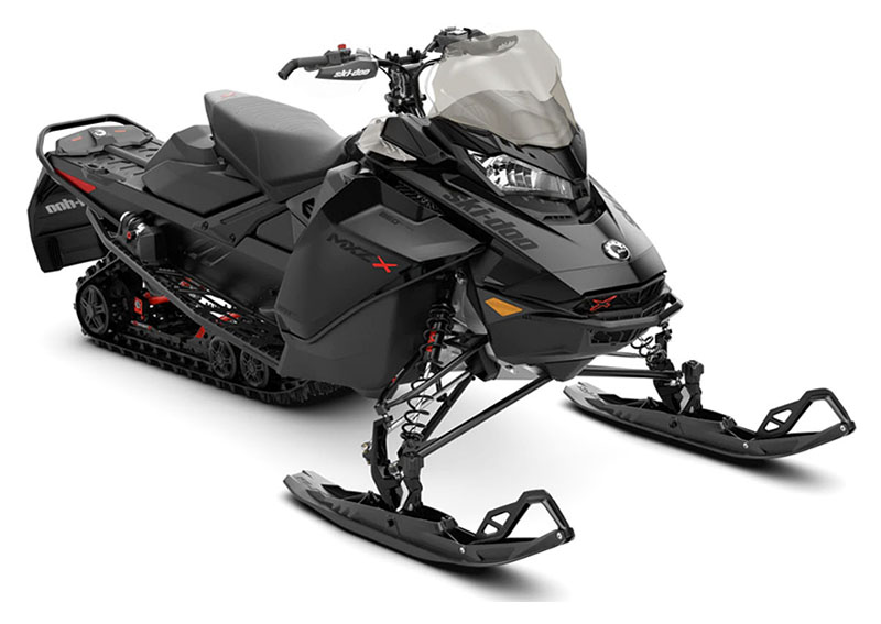 2022 Ski-Doo MXZ X 850 E-TEC ES w/ Adj. Pkg, Ice Ripper XT 1.25 in Sully, Iowa - Photo 1