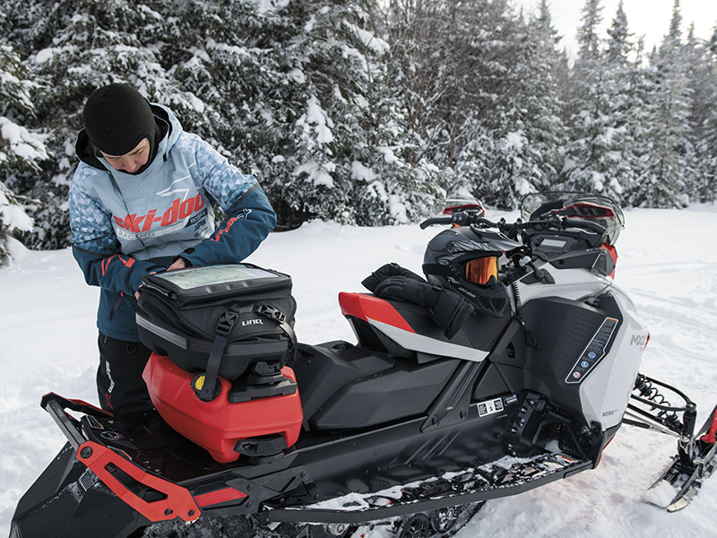 2022 Ski-Doo MXZ X 850 E-TEC ES w/ Adj. Pkg, Ice Ripper XT 1.5 w/ Premium Color Display in Hillman, Michigan