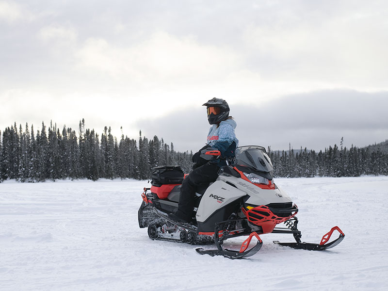 2022 Ski-Doo MXZ X 850 E-TEC ES w/ Adj. Pkg, RipSaw 1.25 w/ Premium Color Display in Cottonwood, Idaho - Photo 4