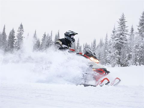 2022 Ski-Doo MXZ X 850 E-TEC ES w/ Adj. Pkg, RipSaw 1.25 w/ Premium Color Display in Wilmington, Illinois - Photo 5