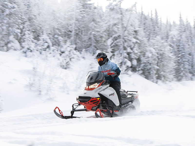 2022 Ski-Doo MXZ X 850 E-TEC ES w/ Adj. Pkg, RipSaw 1.25 w/ Premium Color Display in Cottonwood, Idaho - Photo 8