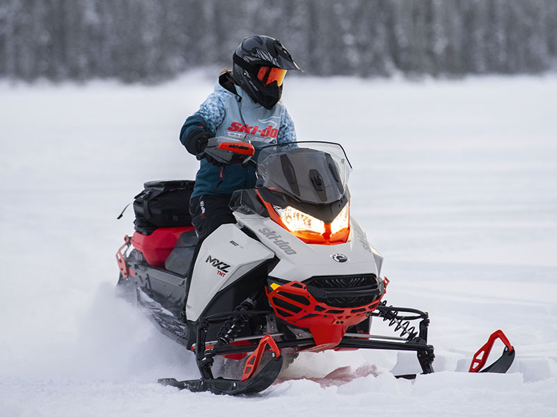 2022 Ski-Doo MXZ X 850 E-TEC ES w/ Adj. Pkg, RipSaw 1.25 w/ Premium Color Display in Cottonwood, Idaho - Photo 9