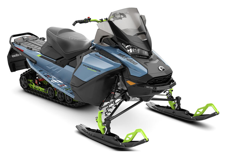 2022 Ski-Doo Renegade Enduro 600R E-TEC ES Ice Ripper XT 1.25 in Dickinson, North Dakota - Photo 1